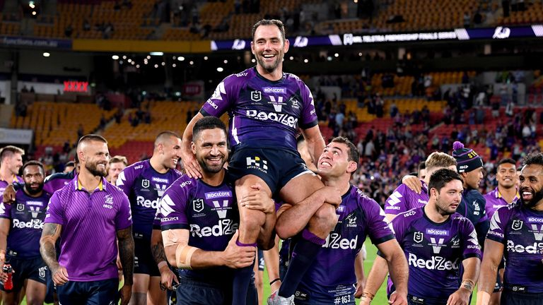 Can Cameron Smith and the Storm add to their honours list?