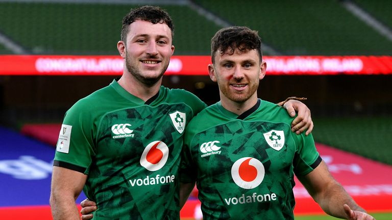 Ireland debutants Will Connors and Hugo Keenan make our XV this week. Find out who joins them below...