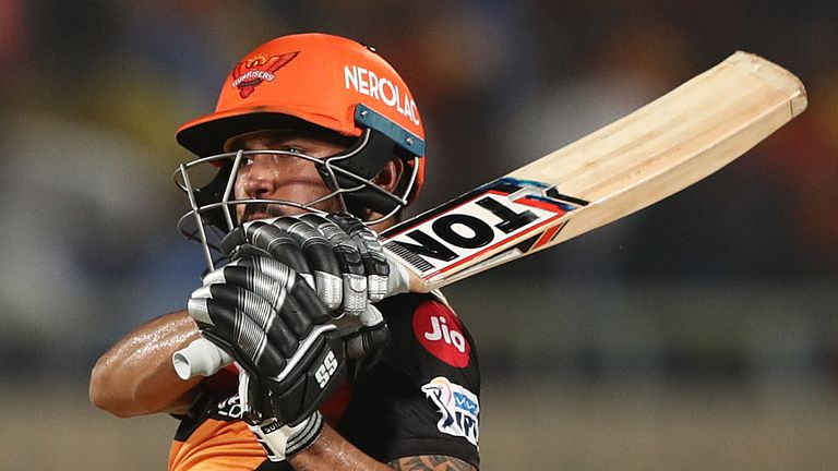 Manish Pandey's 54 helped Sunrisers Hyderabad to reach 158-4