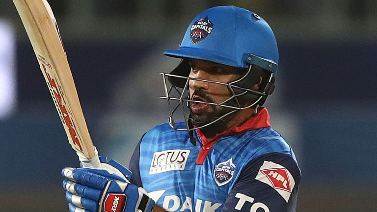 Best of the action as Delhi Capitals took on Chennai Super Kings and Shikhar Dhawan scored his maiden IPL century