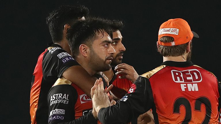 Rashid Khan's spell of 2-25 seemed to have put Sunrisers on course for victory