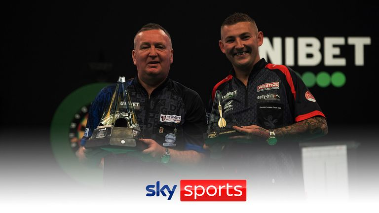 Premier League debutants Aspinall and Durrant locked horns in last year's Premier League final