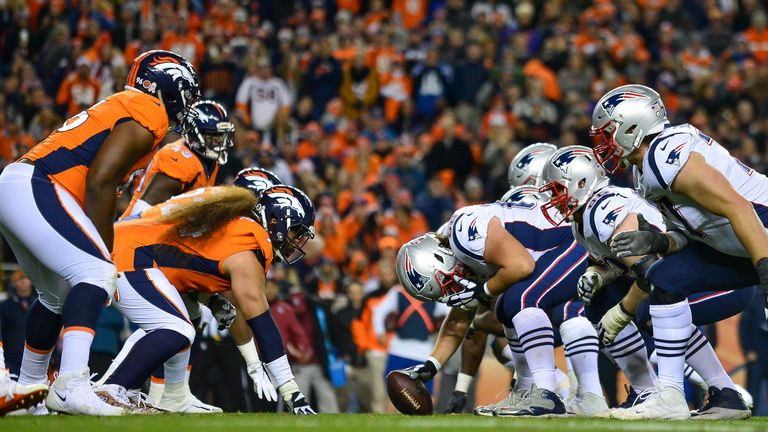 Denver Broncos vs New England Patriots has been pushed to Monday