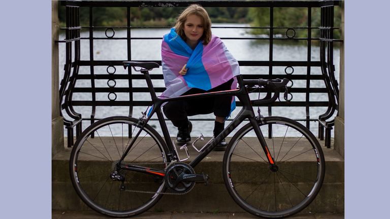 Emily Bridges writes for Sky Sports to mark Coming Out Day (images of Emily by Orlagh Gardner)