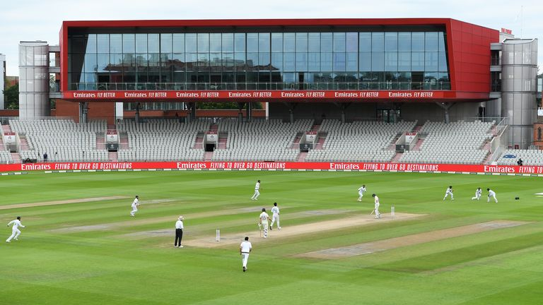 Emirates Old Trafford was used as a venue for the Test cricket this summer