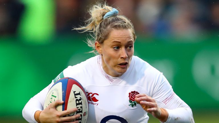 England's Natasha Hunt has been included in the 31-player squad