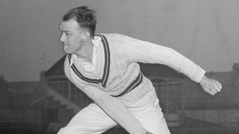 Frank Tyson was nicknamed Typhoon due to the velocity of his bowling