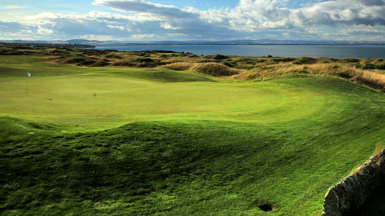 A view of the 18th hole on the Torrance Course at Fairfont St Andrews