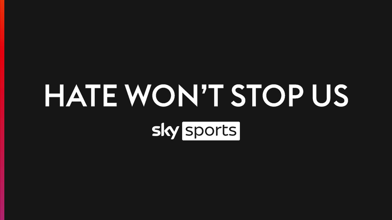Sky Sports is committed to tackling online hate and abuse