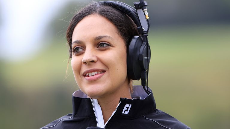 Henni Koyack was among the guests on this week's Sky Sports Golf podcast