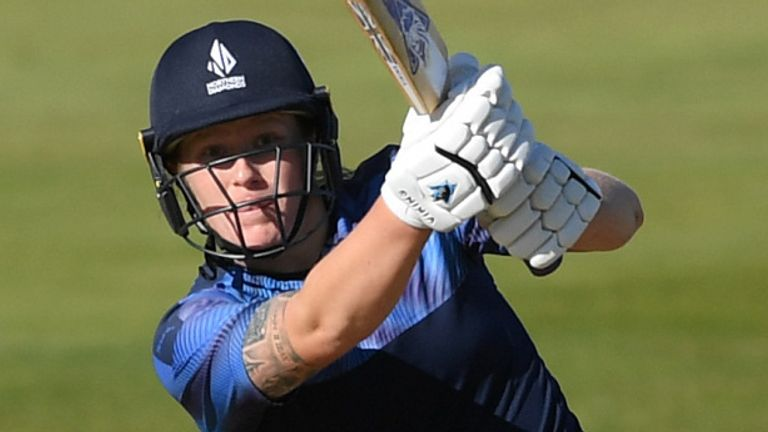 Armitage played for Northern Diamonds in the Rachael Heyhoe Flint Trophy this summer
