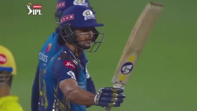 Mumbai's Ishan Kishan powered to his fifth IPL fifty off just 29 balls