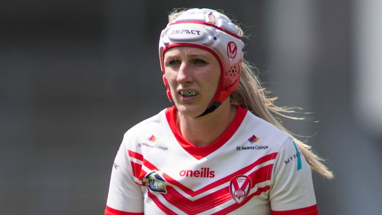Jodie Cunningham will have to wait until 2021 to pull on a St Helens shirt again in the Women's Super League