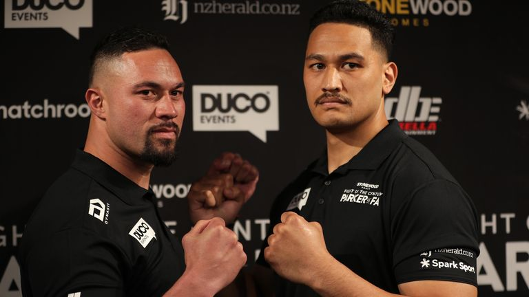 Parker and Fa hold high WBO ratings