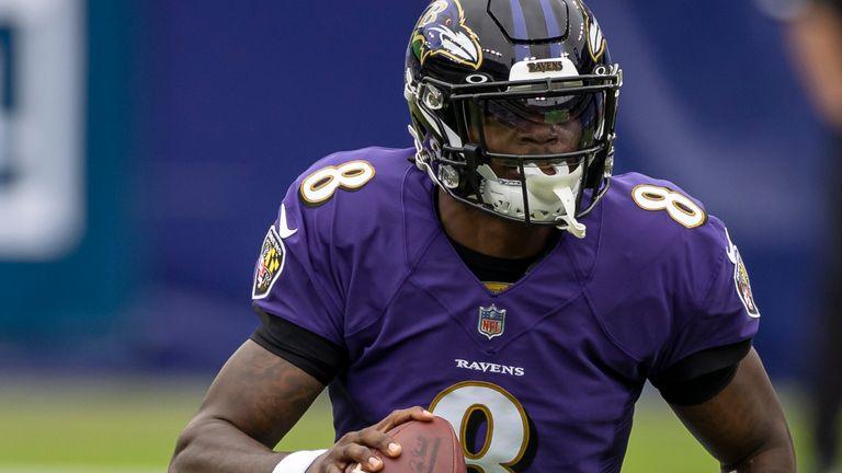 Baltimore Ravens quarterback Lamar Jackson was named league MVP in 2019