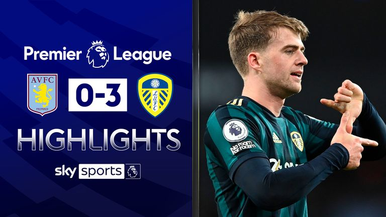 FREE TO WATCH: Highlights from Leeds' win over Aston Villa in the Premier League