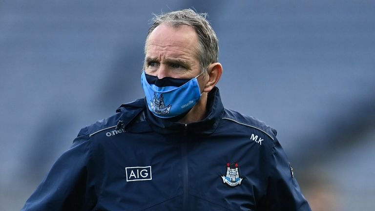 Kenny watched his Dublin side return to winning ways