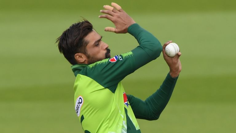 Mohammad Amir has been left out of the 22-man squad for the white-ball series versus Zimbabwe