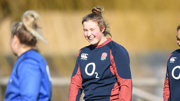 Morwenna Talling will make her debut against Italy