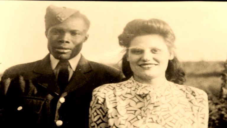 Paul's parents Nell and Eric Irons OBE