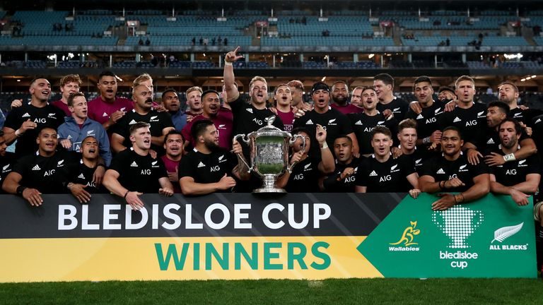 New Zealand retained the Bledisloe Cup with victory over Australia last weekend