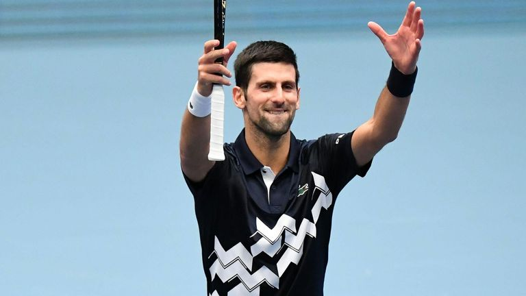 If Djokovic wins the title in Vienna, he cannot be surpassed as No 1