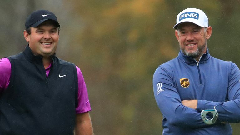 Patrick Reed leads the Race to Dubai standings, with Lee Westwood in fourth spot
