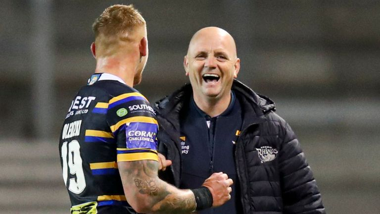 Richard Agar and Leeds are enjoying some good times again