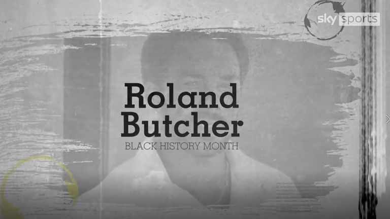 Former Middlesex batsman Roland Butcher was England's first black cricketer and scored a 36-ball fifty against a quality Australia attack on his ODI debut