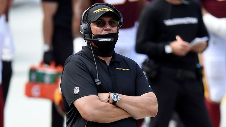 Ron Rivera has taken Washington to the playoffs in his first season in charge