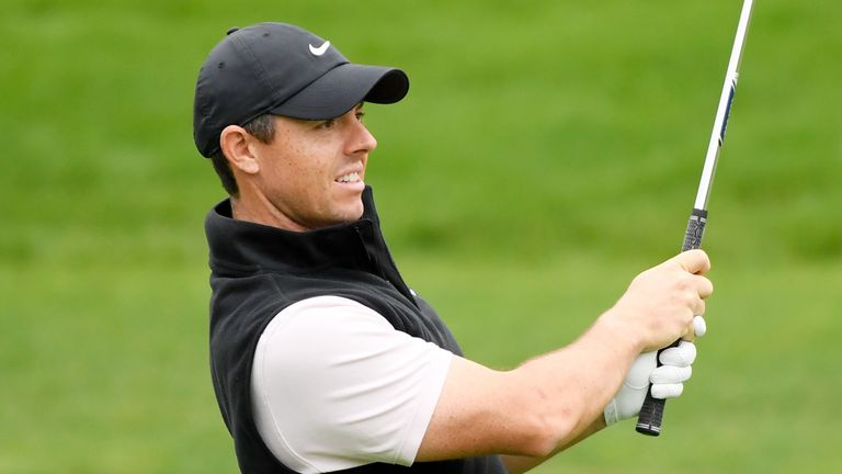 Rory McIlroy was seven under for the third day until finishing with a double-bogey