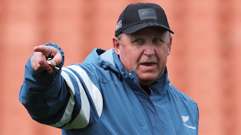 Ian Foster has had a tough start to life as All Blacks coach after losses to Argentina and Australia this year