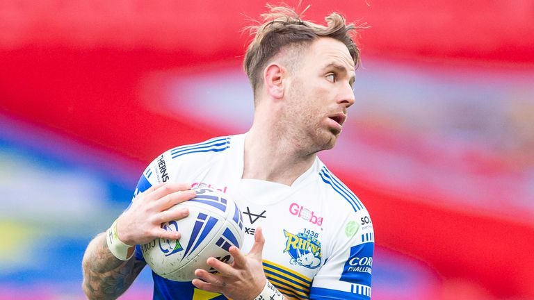 Leeds full-back Richie Myler won the Lance Todd Trophy