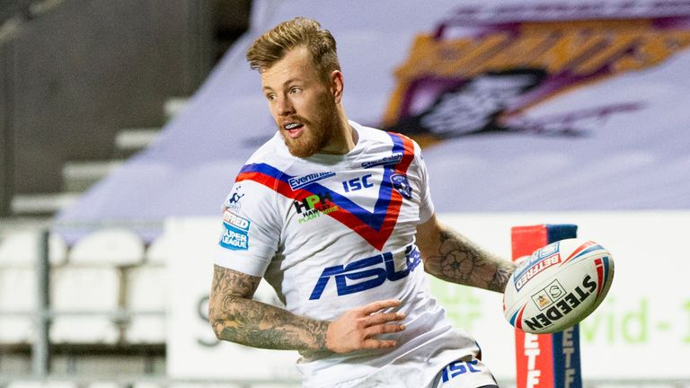 Tom Johnstone's second-half tries sealed victory for Wakefield against Huddersfield