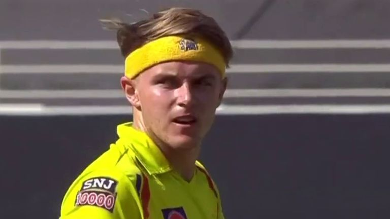 Sam Curran claimed 13 wickets for Chennai Super Kings in the 2020 IPL in the United Arab Emirates