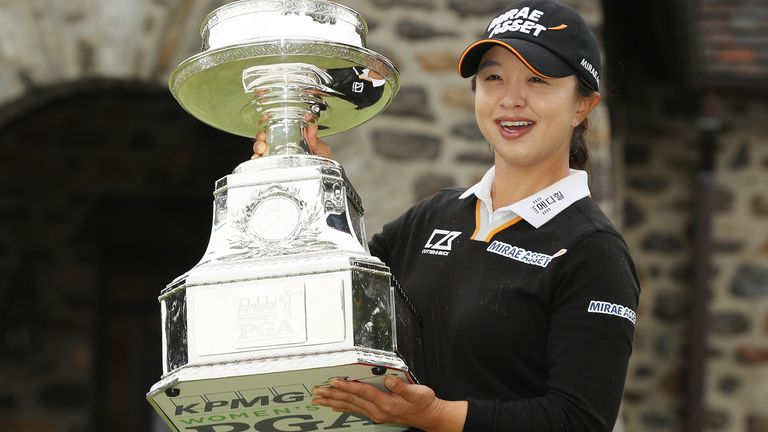 Sei Young Kim ended her wait for an elusive first major win