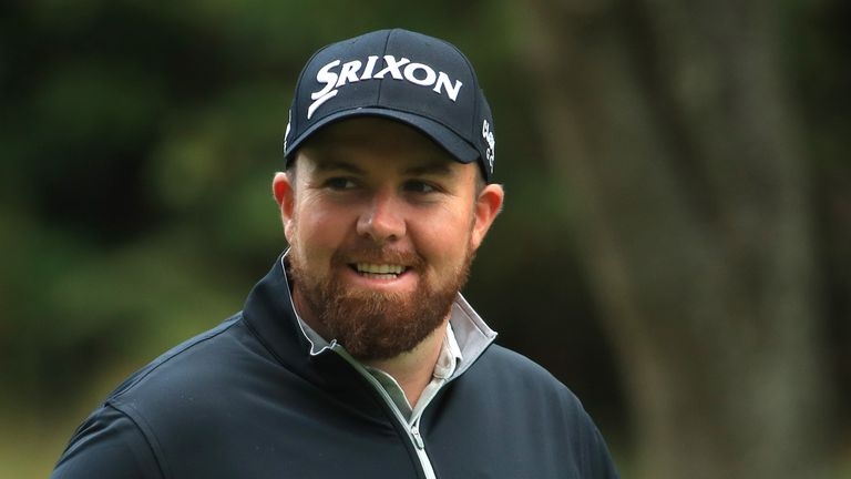 Shane Lowry will play alongside Woods for the first two rounds