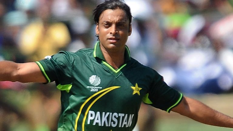 Shoaib bowled a 100.2 mph delivery to Nick Knight during the 2003 World Cup