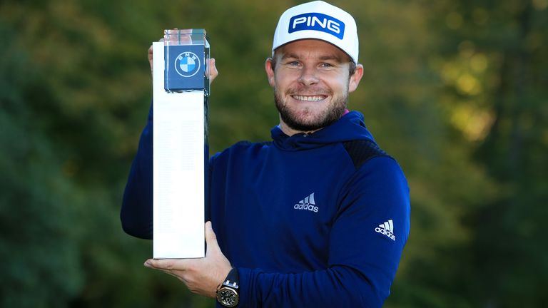 Tyrrell Hatton enjoyed a successful homecoming in his first event on British soil in 2020