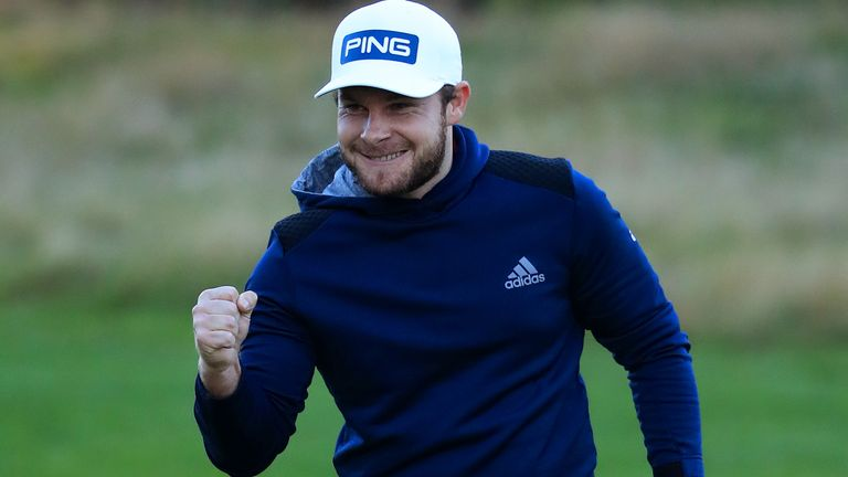 Hatton's victory is his second of 2020, following on from the Arnold Palmer Invitational in March