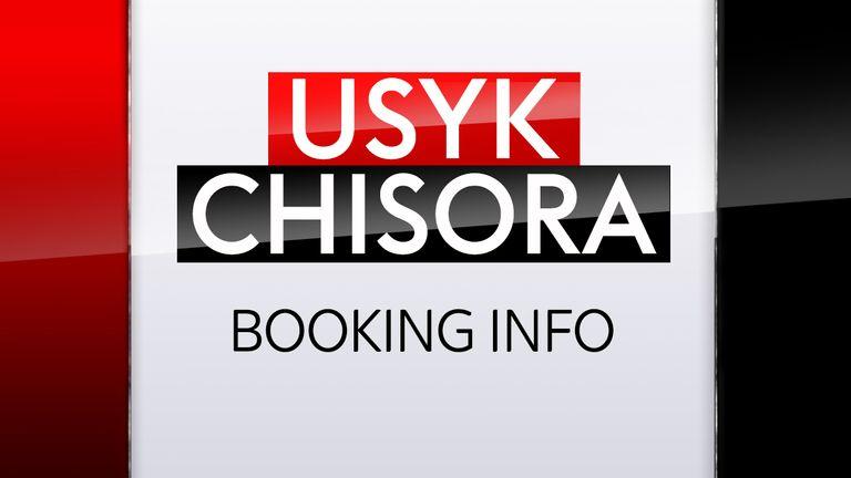 Oleksandr Usyk vs Derek Chisora is live on Sky Sports Box Office