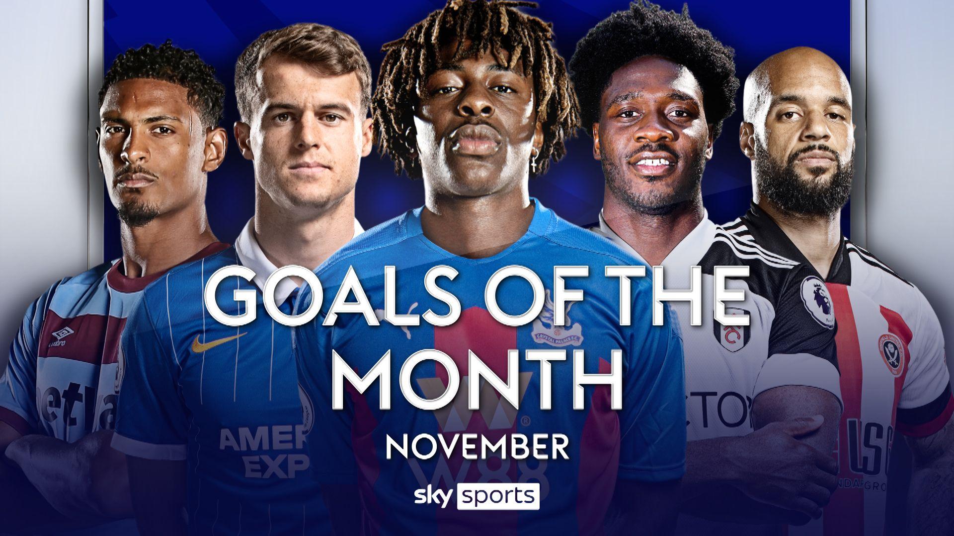 PL Goals of the Month: November