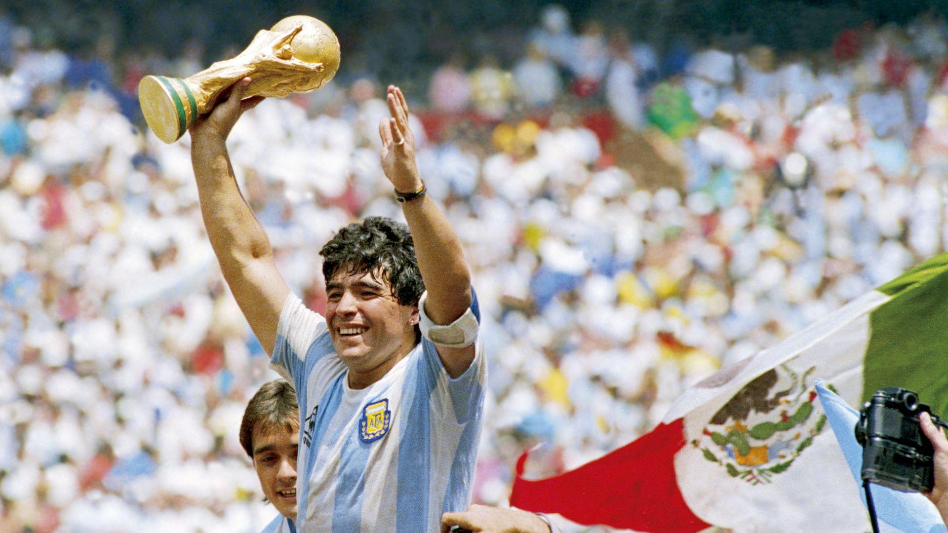 Diego Maradona: In Pictures