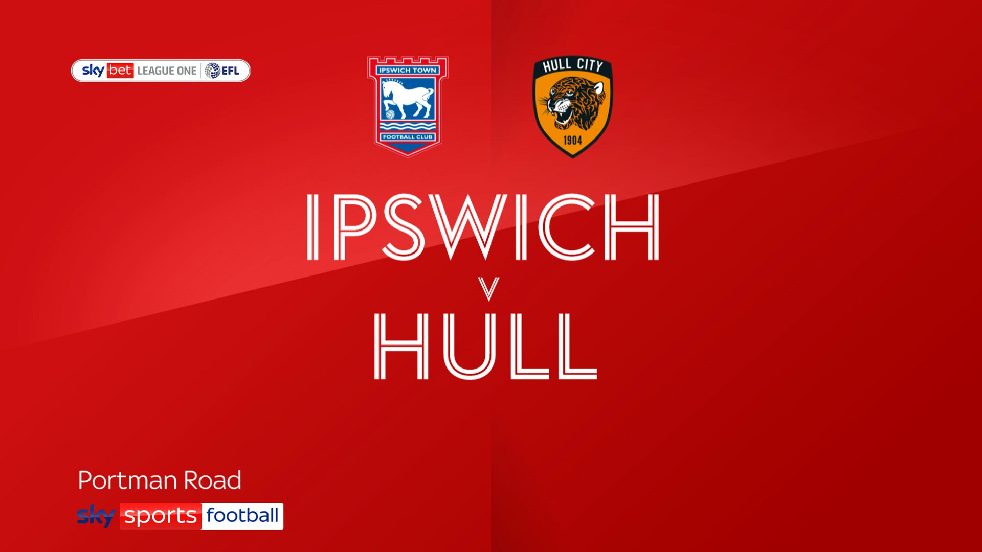 Hull stroll to win at Ipswich