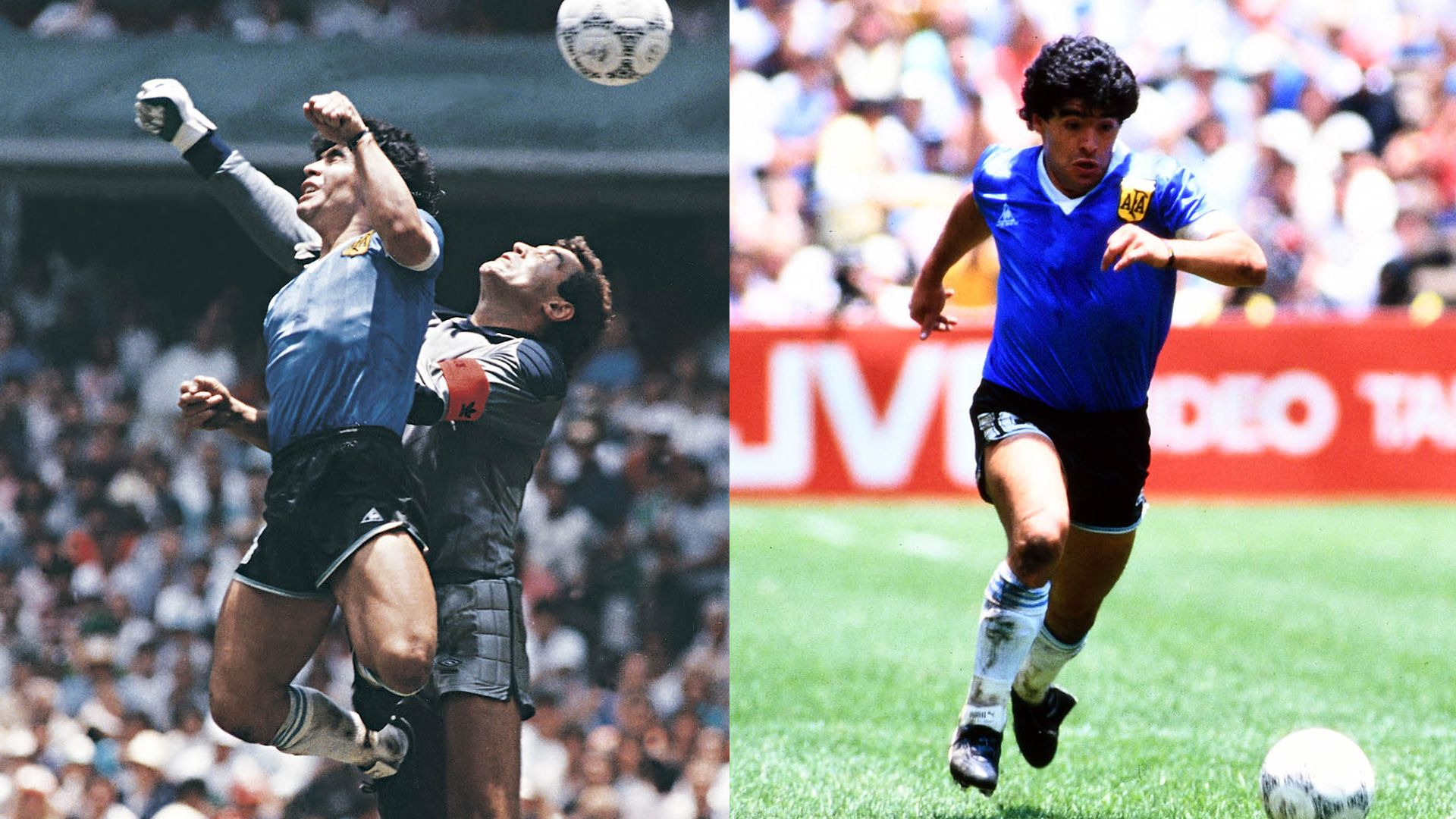 Maradona: The hand of God and the feet of gold - sky sports