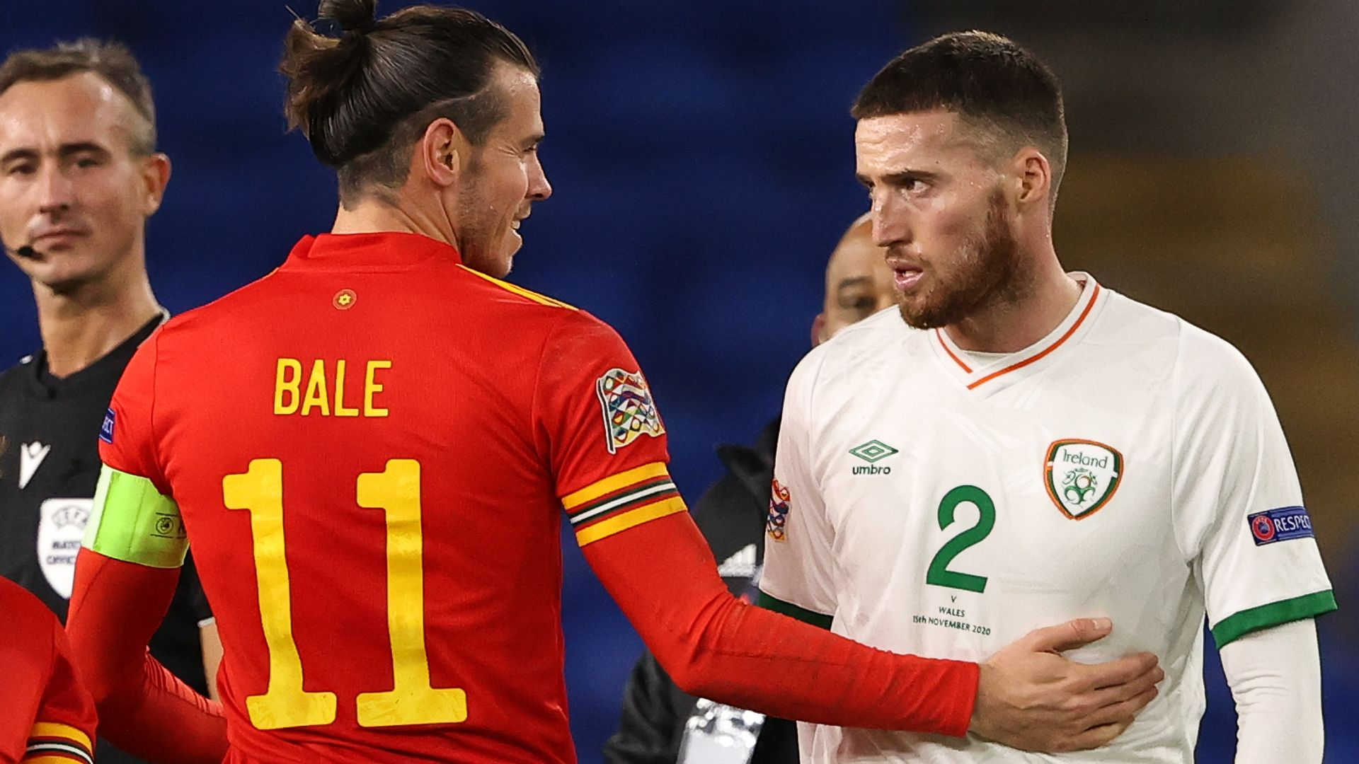 Bale 'concerned' after Doherty embrace