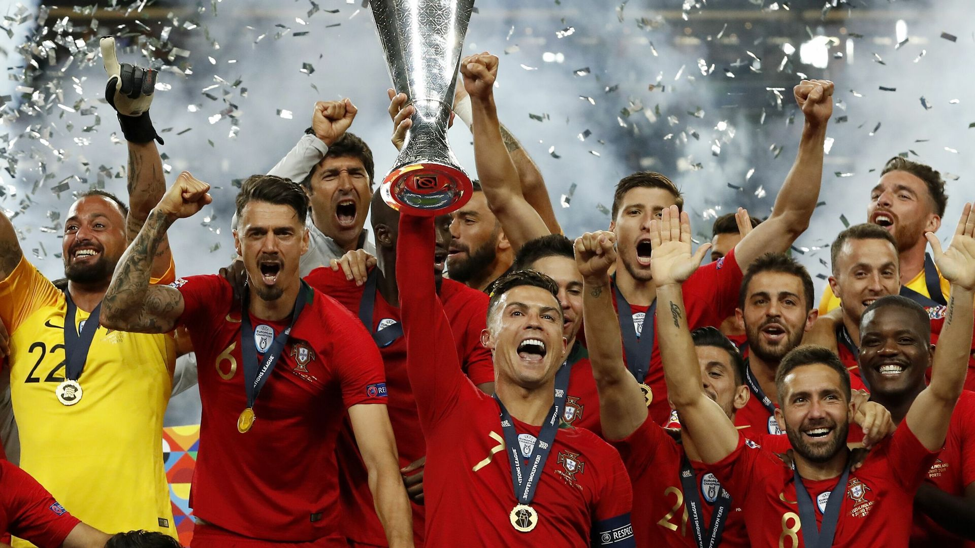 When are the Nations League finals?