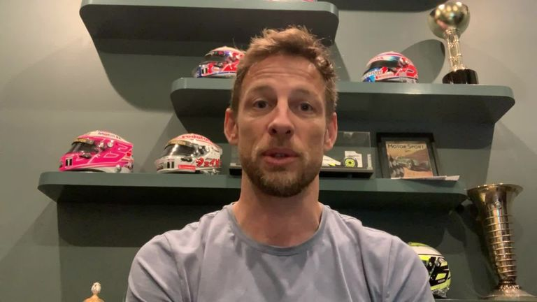 Jenson Button says it is great to see Lewis Hamilton and others using their platform to help promote diversity within F1