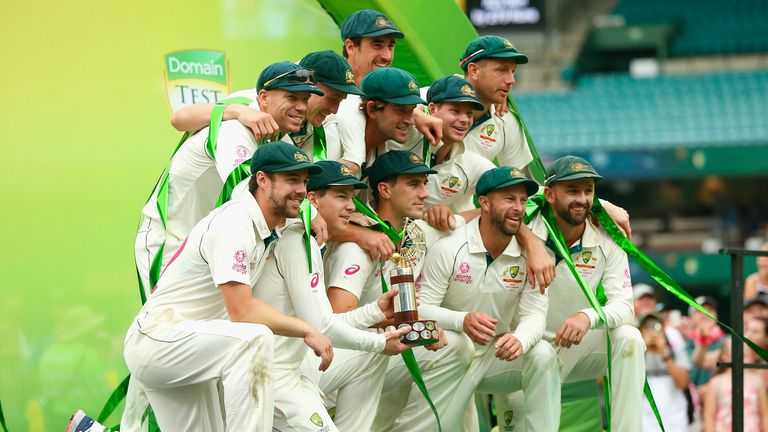 Australia have moved above India in the World Test Championship after the new points system was applied