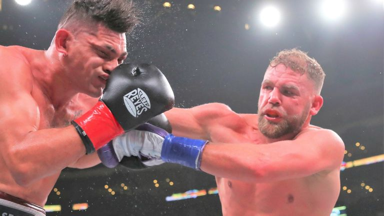 Billy Joe Saunders stopped Marcelo Esteban Coceres in his last fight